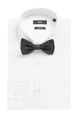 Хлопковая рубашка BOSS  с шелковым галстуком-бабочкой